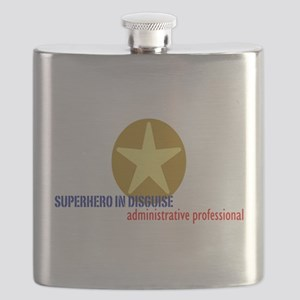 Superhero in disguise Flask
